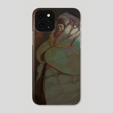 Cold AF - Phone Case by Peter (Apterus) Polach