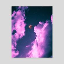 Sky Vibes 3 - Canvas by Suvam
