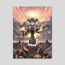 Recognize - Canvas by Jeffrey Smith