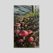 Mushrooms - 7 - Canvas by Sonecta