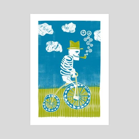 Art Crank - Skeleton by Santiago Uceda