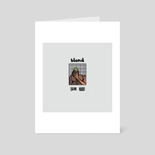 Blond - Art Card by Solar Broccoli