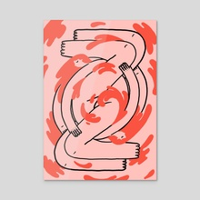 Soma - Acrylic by Joseph Patton