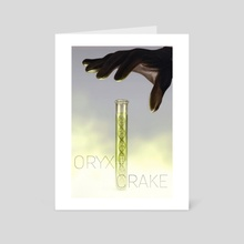 Oryx & Crake - Art Card by Charles Chaisson