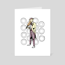 The Fifth Doctor (Doctor Who) - Art Card by Mal Jones