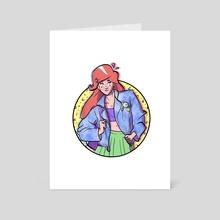 The Little Mermaid - Art Card by Joshua Wescoat