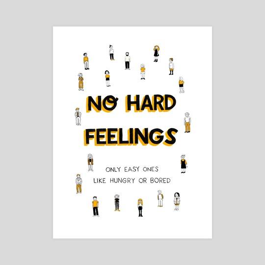 No hard feelings by Siobhán Gallagher