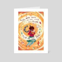 November - Art Card by Simini Blocker