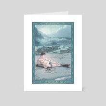 Aquamarine - Art Card by KARADIN