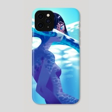 Mermay Wave - Phone Case by NN Chan