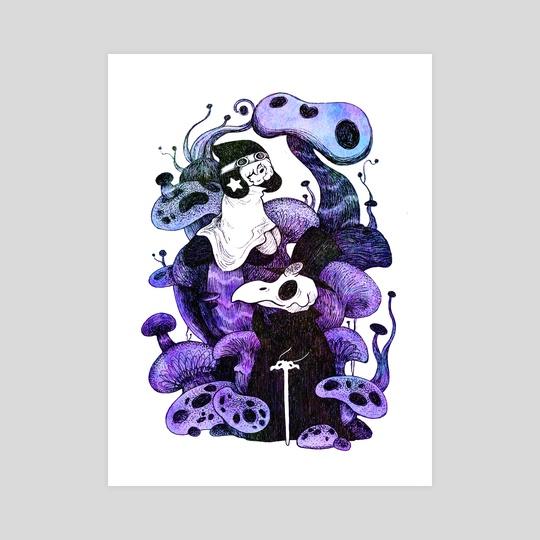 Mushroom World by Nina Yoshida