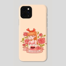 Red power girl - Phone Case by Hyemin Yoo