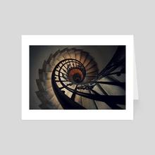 Stairs - Art Card by Tóth Zoltán