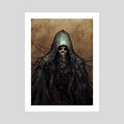 Undead Priest - Art Print by Gammatrap
