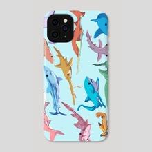 Shark Week - Phone Case by Dani Kruse
