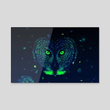 Owl - Acrylic by Rui Faria