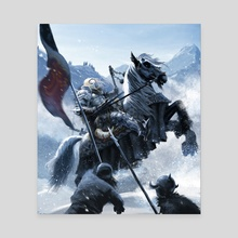 GO NO FURTHER - Knight - Canvas by Pedro Otelcana