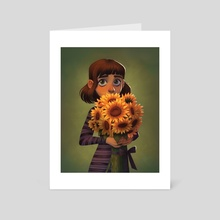 Shy - Art Card by Alyssa Tallent