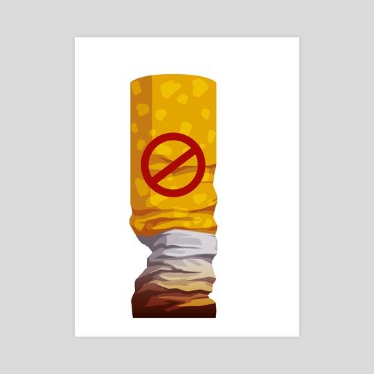 No smoking by Alisa Rysaeva