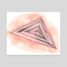 Triangle - Canvas by Joana Lourenço