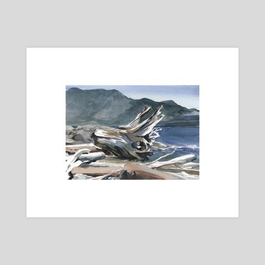 Cates Beach [3] by Kirsti Wakelin
