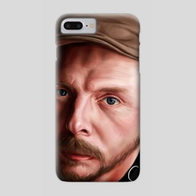 Simon Pegg 01 - Phone Case by Craig Stirling