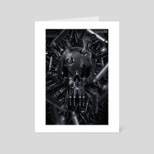 One Man Army  - Art Card by Kode Subject