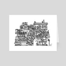 Busy City XIX - Art Card by Scarlett Fu