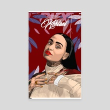 Kehlani  - Canvas by Daniel Cole