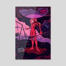 ASUKA - Acrylic by Janel Catajoy