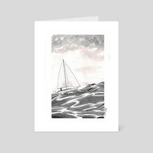Inktober day 1 - Art Card by celine espitallier