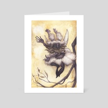 Dancing Faerie - Art Card by Tiffany England