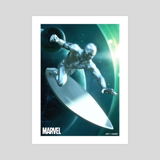 Silver Surfer by Art Of Asher