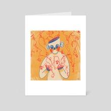 Throwaway (yellow version) - Art Card by artngbubu
