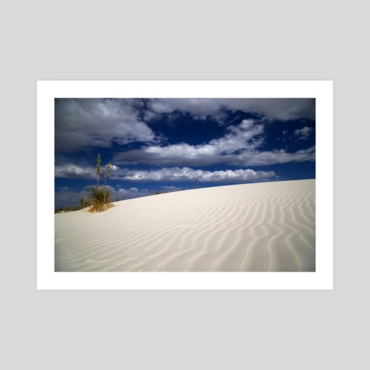 White Sands 1 by Brian Fisher