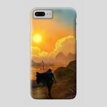 Desert Wanderer - Phone Case by Maurice Mosqua