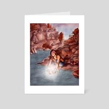 Re(in)fusing Heaven - Art Card by Michelle Kondrich