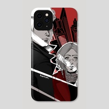 Victor and Sydney - Phone Case by Mariateresa Mazzetto