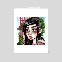 Fight - Art Card by Brittany  Moselina