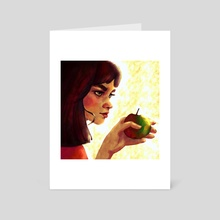 snow white - Art Card by Tatum Flynn