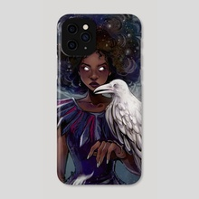 The Crow Witch - Phone Case by Gretel Lusky
