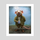 Ratty - Art Print by Jeremy Norton Artist