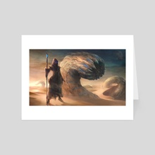 Muad'Dib - Art Card by Yasen Stoilov