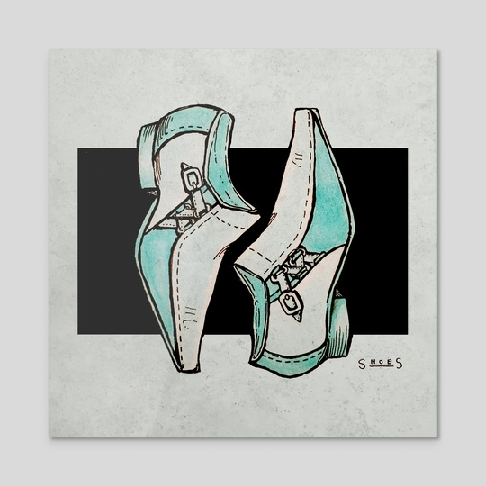 Pointy-toed Shoes by Abbie Sears