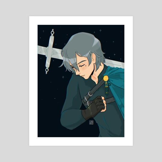 Knightober 31: Good Knight by Loren Davis
