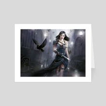 Shadow Alley Denizen - Art Card by Cynthia Sheppard