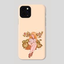 Cabbage Girl - Phone Case by Hyemin Yoo
