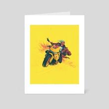 COADM Tour Skull Rider Variant - Art Card by Sam Spratt