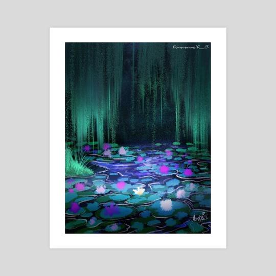Lily Pond by Meriza Gomez
