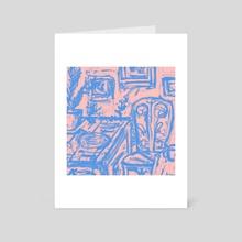 Supper - Art Card by Joseph Patton